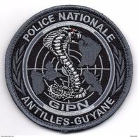 Patch GIPN ANTILLES GUYANE Basse Visibilité Gris - Police