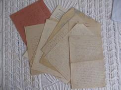 """Correspondance D'un Résistant Emprisonné à """"La Santé"""" En 1943 - 1939-45"""