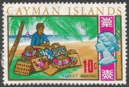 Cayman Islands. 1970 Decimal Currency. 10c Used. SG 281 - Cayman Islands