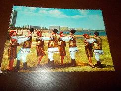 B674   Romania  Folklore Viaggiata Pieghina Angolo - Romania