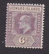 Leeward Islands, Scott #25, Mint Hinged, Edward VII, Issued 1902 - Leeward  Islands