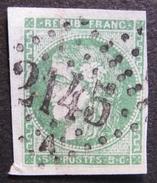 Lot FD/12 - CERES EMISSION DE BORDEAUX N°42 - GC 2145A : LYON LES TERREAUX - Cote : 200,00 € - 1870 Bordeaux Printing