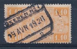 """BELGIE - TR 147 - Cachet  """"LOKEREN Nr 1"""" - (ref. 18.388) - Chemins De Fer"""