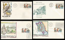 L) 1973 MEXICO, MEXICO TOURIST, BAJA CALIFORNIA TERRITORY, SPORT FISHING, CABO SAN LUCAS, BEACH OF LORETO, SPRING AND - Mexico