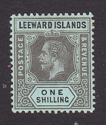 Leeward Islands, Scott #54, Mint Hinged, George V, Issued 1912 - Leeward  Islands