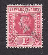 Leeward Islands, Scott #48, Used, George V, Issued 1912 - Leeward  Islands