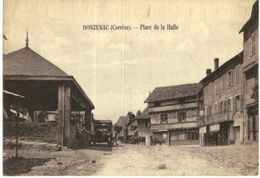 DONZENAC .... PLACE DE LA HALLE - Frankrijk