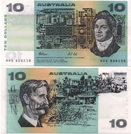 Australia - 10 Dollars 1985 - 1991 Serie MRQ XF+/aUNC- Lemberg-Zp - Unclassified