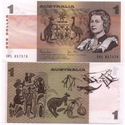 Australia - 1 Dollar 1983 Serie DPL AUNC Lemberg-Zp - Decimal Government Issues 1966-...