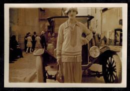 Photo 8.5 X 6 - Femme Pin Up Devant Une Automobile Années 30 --- Del409 - Automobiles