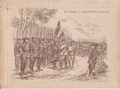 """Carte-Lettre De Soldat Illustrée / Carte Vierge, Non Circulé / """"En Alsace -récompenses Méritées"""" - Marcophilie (Lettres)"""
