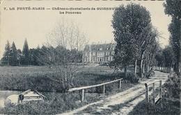 LA FERTE-ALAIS  -  91  -  Château-Hostellerie De GUIGNEVILLE - Le Ponceau - La Ferte Alais