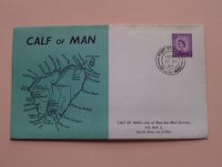 CALF Of MAN Isle Of Man Sea Mail Service ( FDC ) 1964 ( See Photo's ) ! - Man (Ile De)