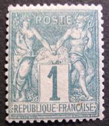 Lot FD/16 - SAGE Type I N°61 NEUF* - Cote : 175,00 € - 1876-1878 Sage (Type I)