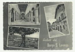 SALUTI DA BORGO S.LORENZO  -  VIAGGIATA FG - Firenze