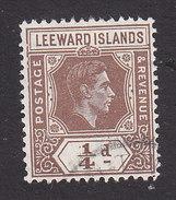 Leeward Islands, Scott #103, Used, George VI, Issued 1938 - Leeward  Islands