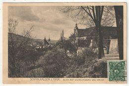 SCHMALKALDEN I. Thür. - Blick Auf Wilhelmsburg Und Kirche - Schmalkalden
