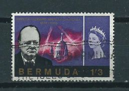 1966 Bermuda 1'3 Sh Winston Churchill Used/gebruikt/oblitere - Bermuda