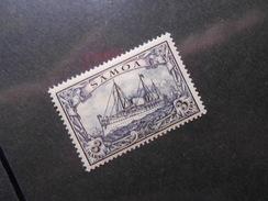 D.R.18  3M**/MNH   Deutsche Kolonien (Samoa) 1901 - MI 40,00 € - Luxusmarke - Colonia: Samoa