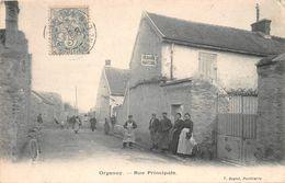 ORGENOY - Rue Principale - Francia