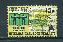 1972 Ghana Int.book Year Used/gebruikt/oblitere - Ghana (1957-...)