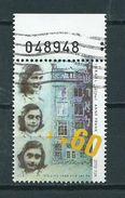 1988 Israel Anne Frank Used/gebruikt/oblitere - Israël