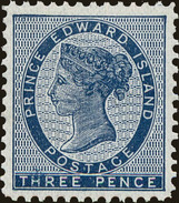Prince Edward Island Scott #6, 1862, Hinged - Prince Edward Island