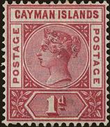 Cayman Islands Scott #2, 1900, Hinged - Cayman Islands