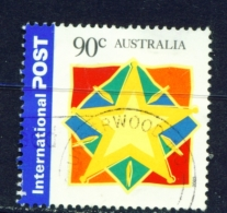 AUSTRALIA  -  2003  Christmas  90c  International Post  Sheet Stamp  Used As Scan - 2000-09 Elizabeth II