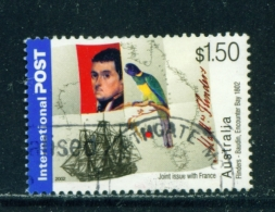 AUSTRALIA  -  2002  Flinders-Baudin  $1.50  International Post  Sheet Stamp  Used As Scan - Oblitérés