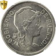 Monnaie, SPAIN CIVIL WAR, EUZKADI, 2 Pesetas, 1937, Bruxelles, PCGS, MS66, FDC - Zone Nationaliste