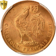 Cameroun, 50 Centimes, 1943, Pretoria, PCGS, MS66RD, FDC, Bronze, KM:6, Gradée - Cameroon