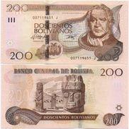 Bolivia - 200 Bolivianos 2015 ( 1986 ) Serie J UNC Lemberg-Zp - Bolivia