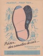 PROTEGE CAHIER / PORTEZ DES SEMELLES DE CUIR - Shoes
