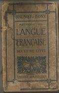 Méthode De LANGUE FRANCAISE   BRUNOT ET BONY - 6-12 Years Old