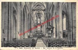 Binnenzicht Der Basiliek - Halle - Halle