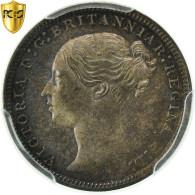 Monnaie, Grande-Bretagne, Victoria, 3 Pence, 1874, PCGS, PL65, Argent, KM:730 - 1816-1901 : Frappes XIX° S.