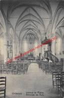 Binnenste Der Kerk - Onckerzele - 1919 - Geraardsbergen - Geraardsbergen