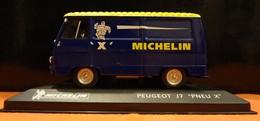 "Fourgon - Peugeot J7 ""Pneu X"" Michelin - 1/43 - Utilitaires"