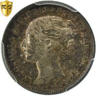 Monnaie, Grande-Bretagne, Victoria, 3 Pence, 1873, PCGS, PL64, Argent, KM:730 - 1816-1901 : Frappes XIX° S.