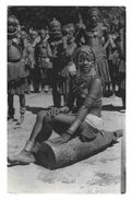 ANGOLA Rapariga Nua. Postal Fotografico Gevaert. Vintage Photo Postcard Nude Black Girl. AFRICA - Angola