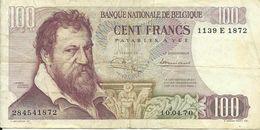 BELGIQUE - 100 FRANCS - 1970 - 1139 E 1872 - SEE PHOTOS - NICE PRICE - [ 2] 1831-... : Belgian Kingdom