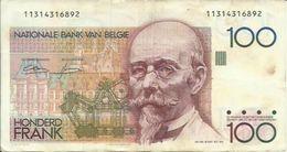 BELGIQUE - 100 FRANCS - 1982/94 - 11314316892 - SEE PHOTOS - NICE PRICE - [ 2] 1831-... : Belgian Kingdom