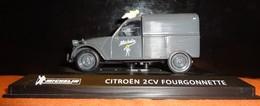 Voiture - Citroën 2CV Fourgonnette Michelin - 1/43 - Other