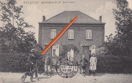 VELAINES - Habitation De Mr Deffrennes - Splendide Carte Animée - Celles
