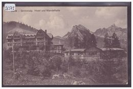 GRIMMIALP - HOTEL UND WANDELHALLE - B ( PLI EN BAS ) - BE Berne