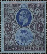 Sierra Leone Scott #138, 1923, Stanley Gibbons No., Hinged - Sierra Leone (...-1960)