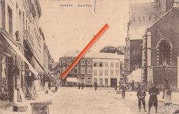 ENGHIEN - Grand'Place - Carte Animée - Edingen