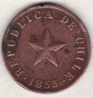 Chile. 1 Centavo 1853 . Copper. KM# 127 - Chili