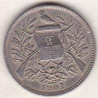 Guatemala . 1 Real 1901. Copper-Nickel.  KM# 177 - Guatemala